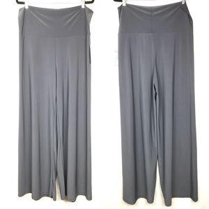 NWT HONEY & LACE yoga waist palazzo pants solid